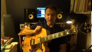 Pablo Satek 2015- Jazz guitar-Clase 2:Introduccion al solo jazz guitar