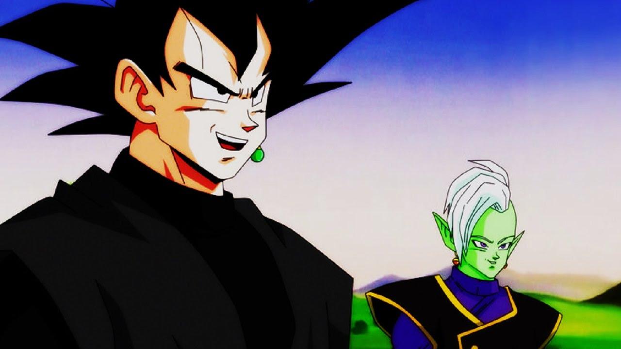 Black Goku Zamasu Amp Universe 10 Youtube