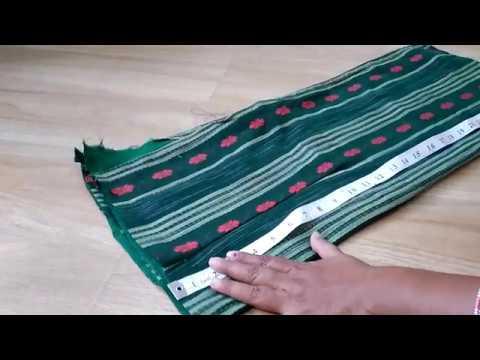 Punjabi Dress Cutting part 1 - Marathi