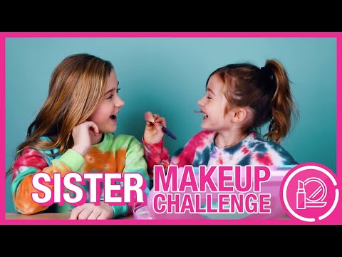 LITTLE SISTER DOES MY MAKEUP! - 동영상