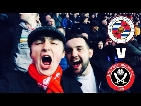 LATE GOALS AND LIMBS - READING V SHEFFIELD UNITED MATCHDAY VLOG