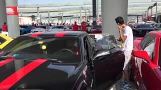 Dubai motor festival muscle cars