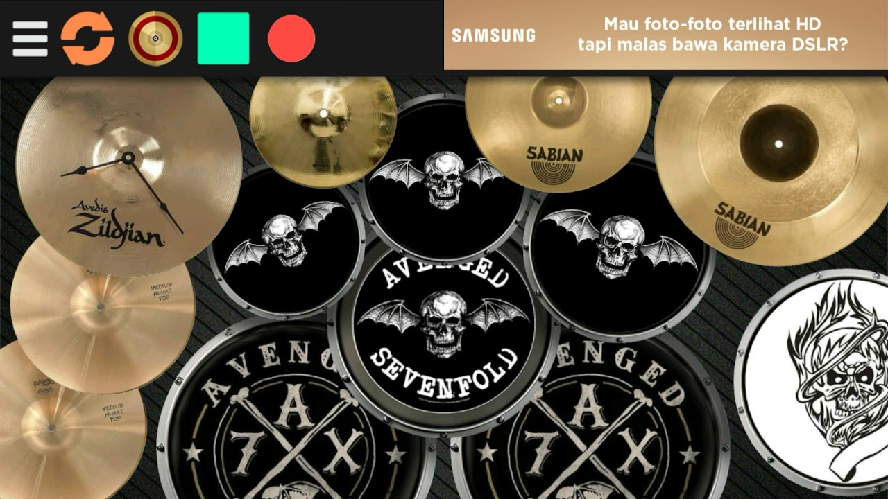 New Real Drum Mod Avenged Sevenfold So Far Away Cover Drum