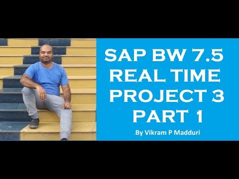 SAP BW Advanced DSO Project Part 1 - YouTube