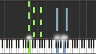 How To Play Kelly Clarkson Stronger - Piano Tutorial