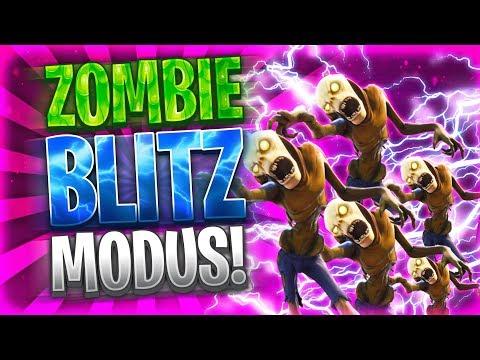 ⚡️💀FORTNITE ZOMBIE IM BLITZ-MODUS! | 3 Jäger vs 70 Zombies! Zone wird extrem schnell klein!