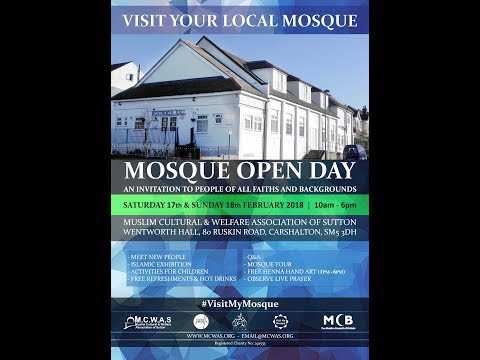 MCWAS Visit My Mosque Open Day 2018