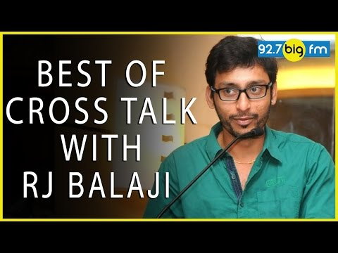 92 7 BIG FMs Best of Cross Talk with RJ பாலாஜி