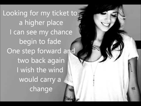 Christina Perri  Burning Gold Lyrics
