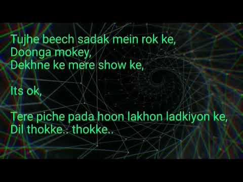 Nazar Lag Jayegi karaoke with lyrics Millind Gaba || Kamal Raja.