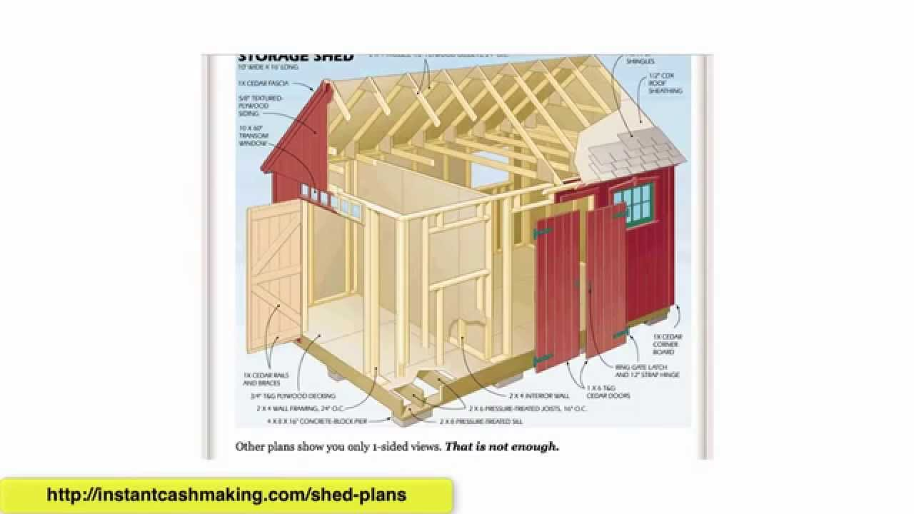Shed plans 12x16 shed plans for sale shed plans 8x10 duyan for Shed plans for sale