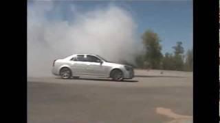 Cadillac CTS-V Burnout Direzzas' last Day