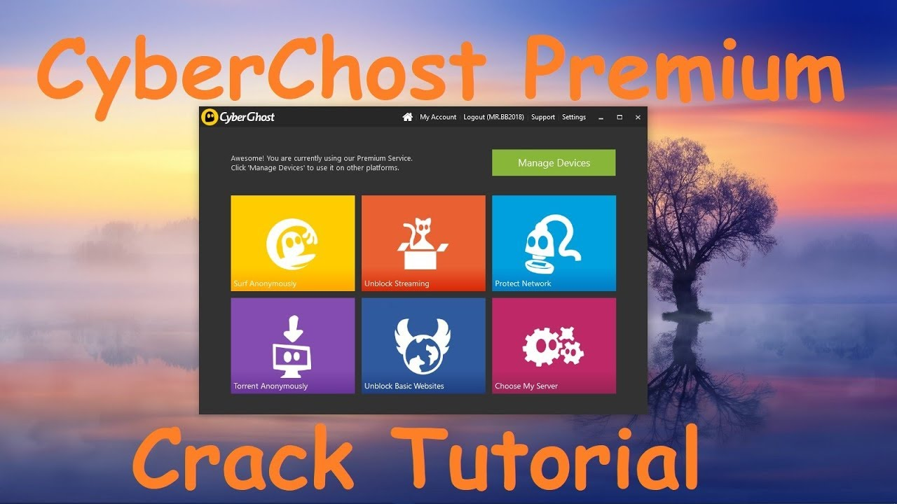 Latest] CyberGhost VPN Premium v Crack Apk! - Hax Cracks