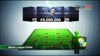Pro Evolution Soccer 2011/Winning Eleven 2011 /實況足球 2011  trailer 影片