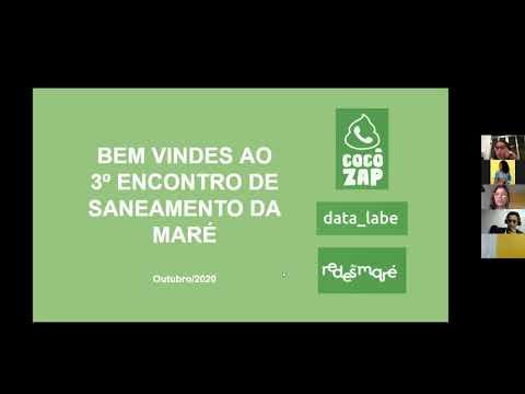 3° Encontro de Saneamento da Maré // data_labe // Cocôzap