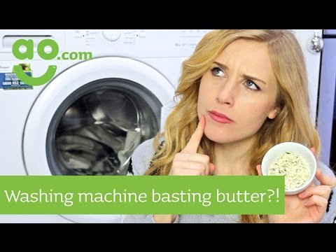 Maddie Moate - Turkey Basting Butter in a Washing Machine?! | ao.com Recipes