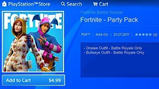 How to Get the SKIN Onesie in Fortnite! (NEW SKIN Onesie Pack in Fortnite)
