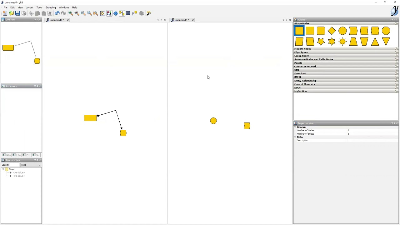 Download Webinar: Diagramming with yEd