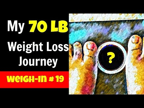 Weigh-In #19 + NEGATIVE ATTENTION & WEIGHT LOSS (Emotional) + IF + ACV | 70 lb Weight Loss Journey