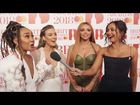 Little Mix Discuss Leigh-Anne Pinnock's Unusual Outfit At The BRIT Awards 2018