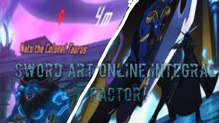 new Sao game (sword art online integral factor) live stream
