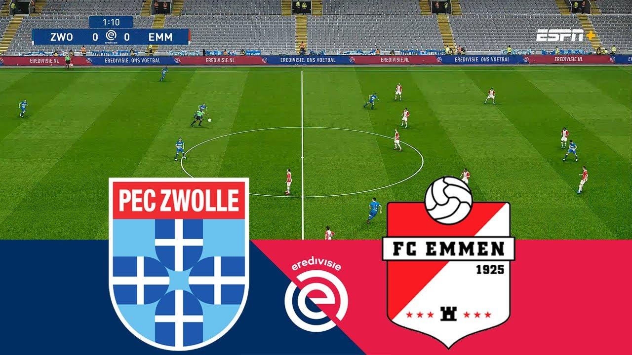 Pec Zwolle Vs Fc Emmen 0 0 Highlight Goal Eredivisie 2020 2021 Youtube