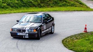 2. ADAC Clubslalom des MSC Trittau e.V. 2015 - Heidbergring - Alexander Brase #36 BMW 323ti Onboard