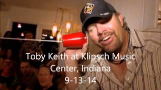 "Toby Keith Drunk ""Courtesy of the Red, White & Blue"""