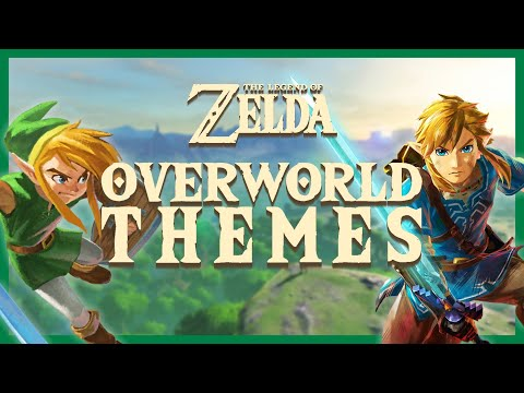 The Legend of Zelda - All Overworld Themes (1986-2017)