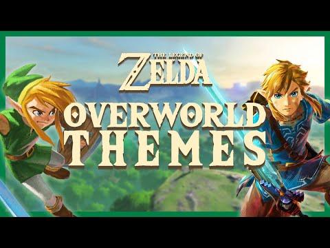 The Legend of Zelda - All Overworld Themes (1986-2017)