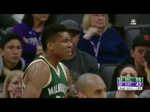 Milwaukee Bucks at Sacramento Kings - March 22, 2017