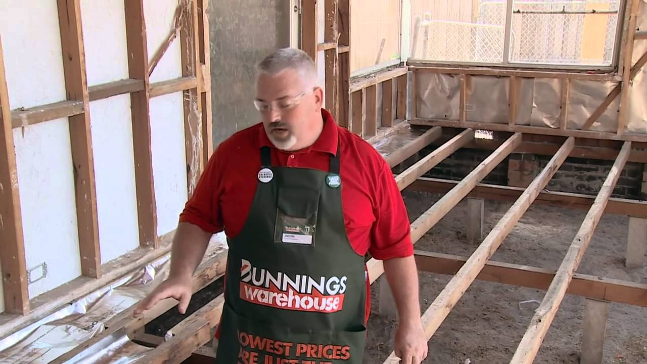 How To Install Underfloor Foil Insulation Diy At Bunnings Youtube