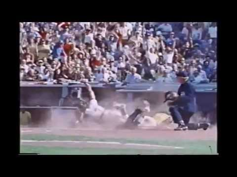 Greatest Throw in MLB Playoff History - Joe Ferguson in 1974 World Series