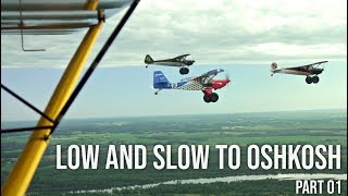 HAL'S ENGINE BLEW UP and I SAW DRACO! Flying low n slow TO OSHKOSH.