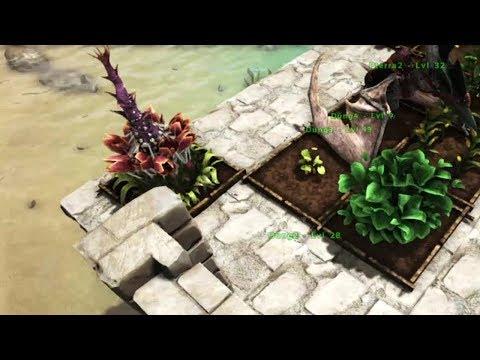 Episode 92: Building Plant Species X Base Defenses in Viking Bay - Ark: Ragnarok Survival Guide