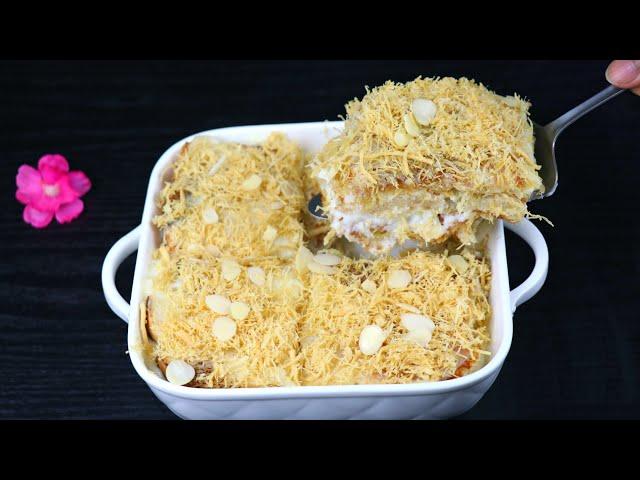 ঈদের বেস্ট ও আনকমন ডেজার্ট- শাহী মালাই টুকরা | Malai Tukra/Sahi Tukra | Sahi Tukda | Eid Dessert