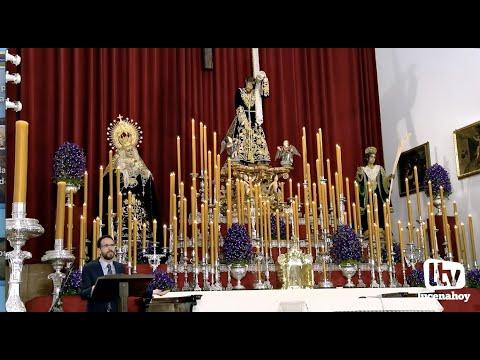 VÍDEO: Algunos fragmentos del Pregón a Ntro. Padre Jesús Nazareno, a cargo de Francisco Javier Segura