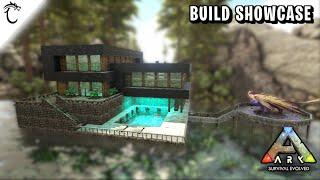 ARK: Ragnarok Base Location - Hidden Cave Village by the