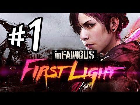 inFAMOUS First Light - Parte 1: Abigail Walker [ Playstation 4 - Dublado em PT-BR ]