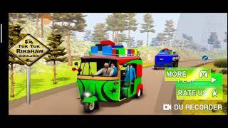 Modern Auto Tuk Tuk Rickshaw Game screenshot 4