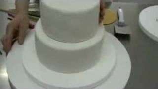 Cómo hacer una tarta de fondant de dos pisos. Como montar una torta de dos alturas