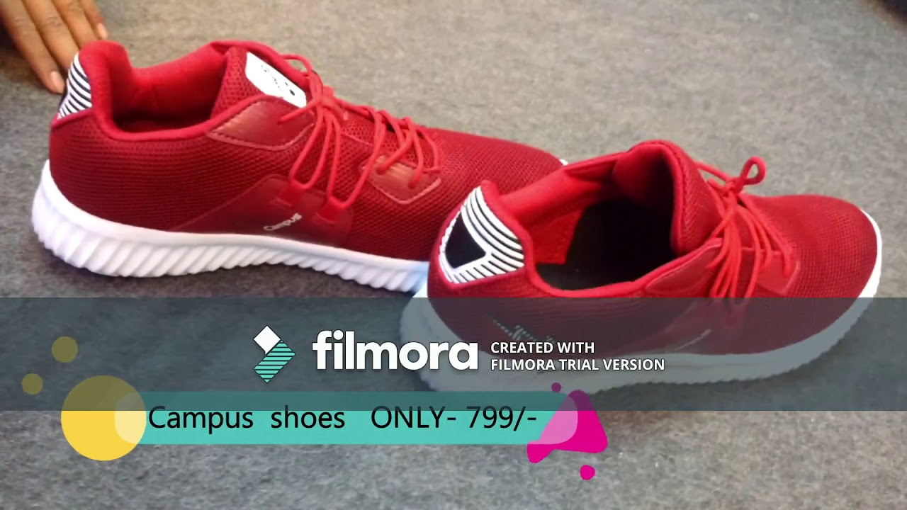 Campus shoes with good design just 799