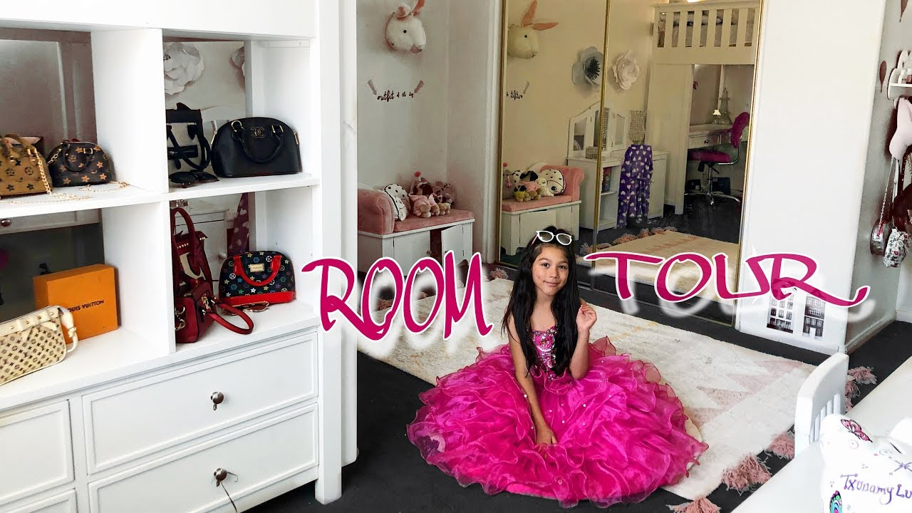 Updated Room Tour With Loft Txunamy Youtube