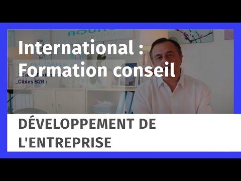 International : Formation conseil pour se développer à l'étranger