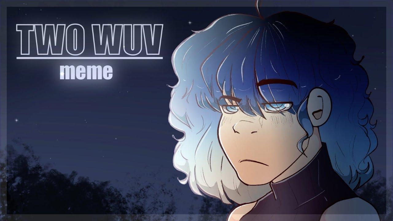 TWO WUV || animation meme || krita
