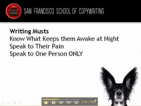San Francisco School of Copywriting   Killer Copy Writing Tip