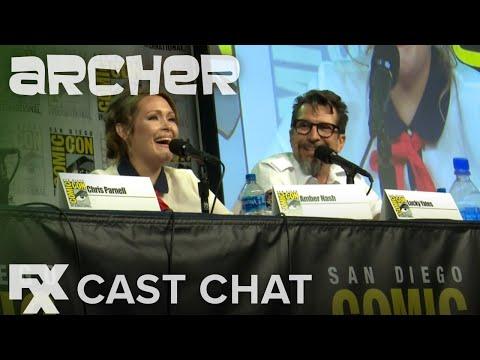 Archer | Season 10: Greatest Fears Cast Chat | FX
