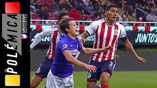 Si fue penal para Cruz Azul, ¿por qué no fue para Chivas?   LA POLÉMICA