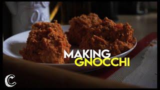Making Sweet Potato Gnocchi