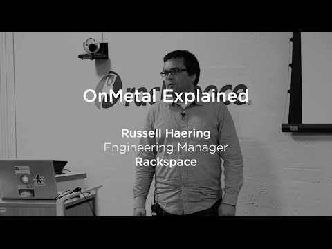 Rackspace OnMetal - Cloud Bare Metal Servers Explained